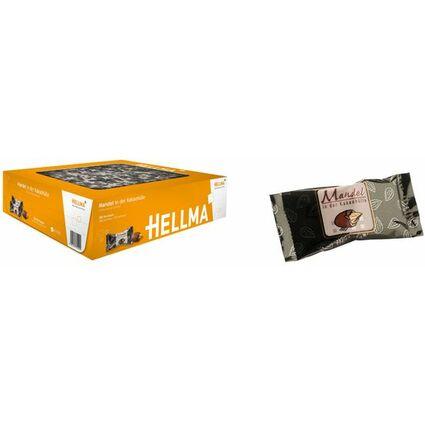 HELLMA Mandeln in Kakaohülle, im Karton
