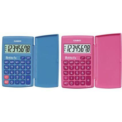 Casio Taschenrechner LC-401 LV 8-stellig Batteriebetrieb pink