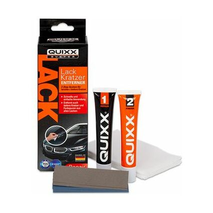 quixx kratzer entferner f r autolack 8 teilig 50253 bei g nstig kaufen. Black Bedroom Furniture Sets. Home Design Ideas