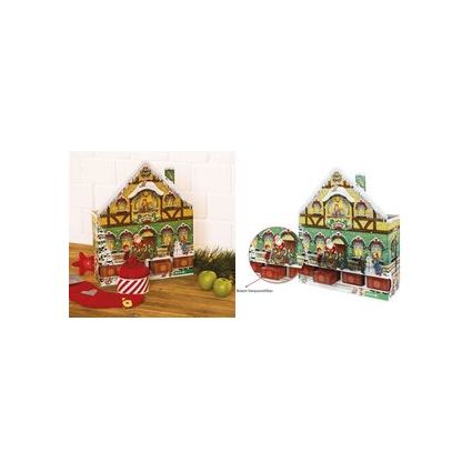 roth adventskalender weihnachtshaus zum bef llen 80300 bei g nstig kaufen. Black Bedroom Furniture Sets. Home Design Ideas