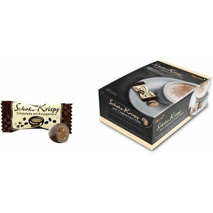 HELLMA Schoko-Krispy in Vollmilchschokolade, Genießerbox