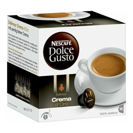 "NESCAFE Dolce Gusto Kaffee Kapseln ""Crema d'Oro"""