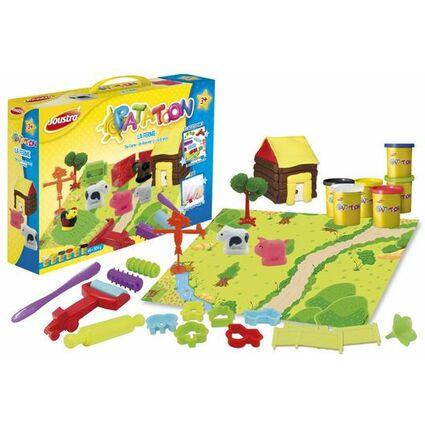 """Joustra Spielknete-Set """"Bauernhof"""", 29-teilig"""