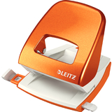 LEITZ locher Nexxt 5008, orange-metallic, im Karton