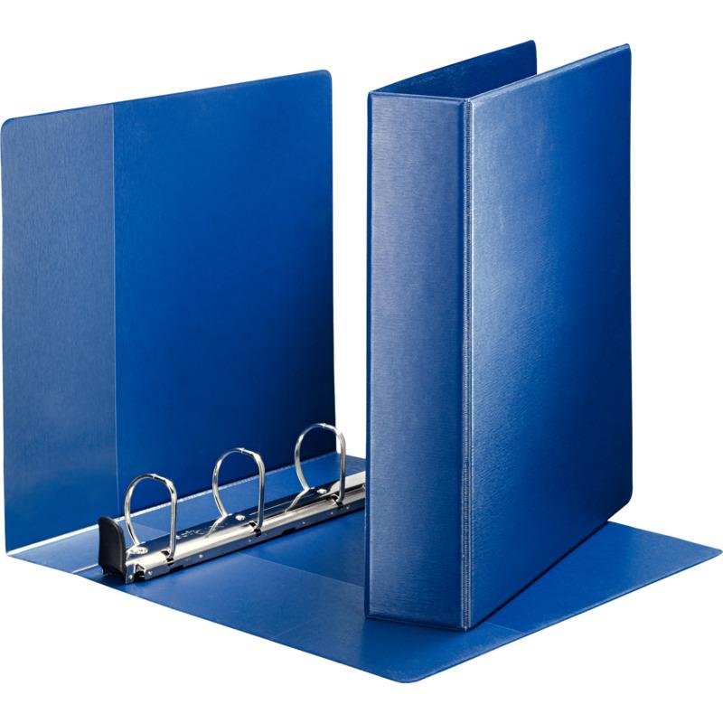 leitz premium ringbuch din a4 berbreite blau 4 d ring 4603 00 35 bei. Black Bedroom Furniture Sets. Home Design Ideas