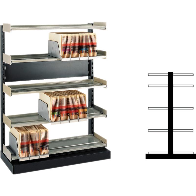 leitz orgaclass doppel anbautheke f r stehsammler ordner 8613 00 00 bei g nstig. Black Bedroom Furniture Sets. Home Design Ideas