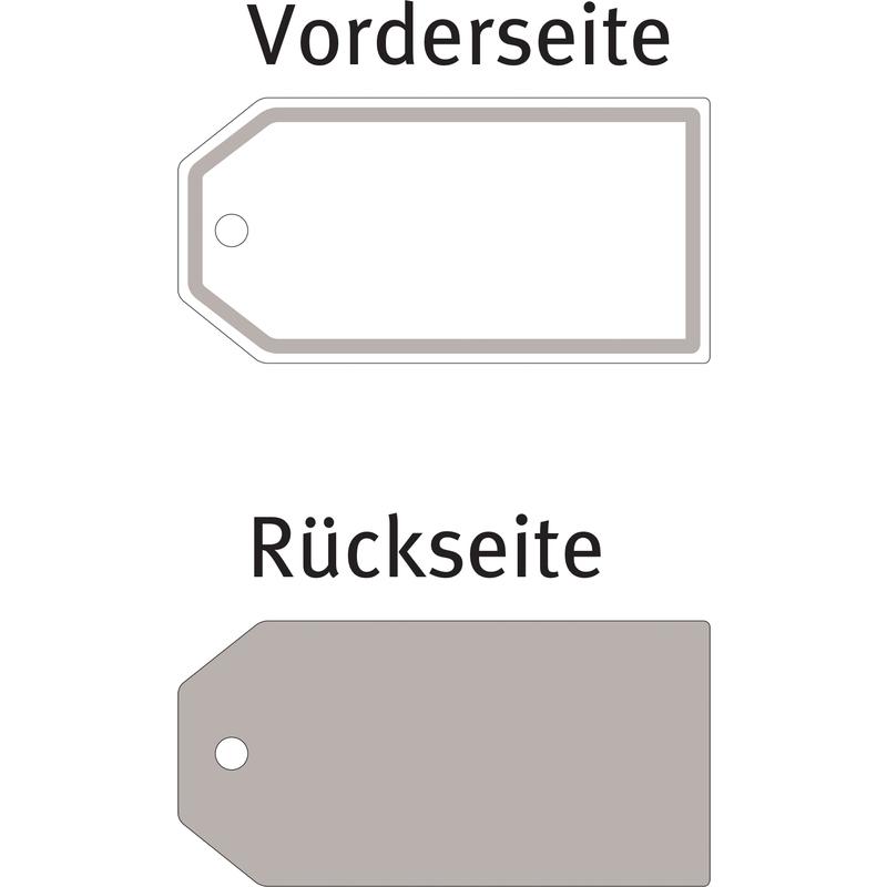 80 x 40 mm 4 St/ück wei/ß AVERY Zweckform 62024 Living Geschenk-Anh/änger Deko