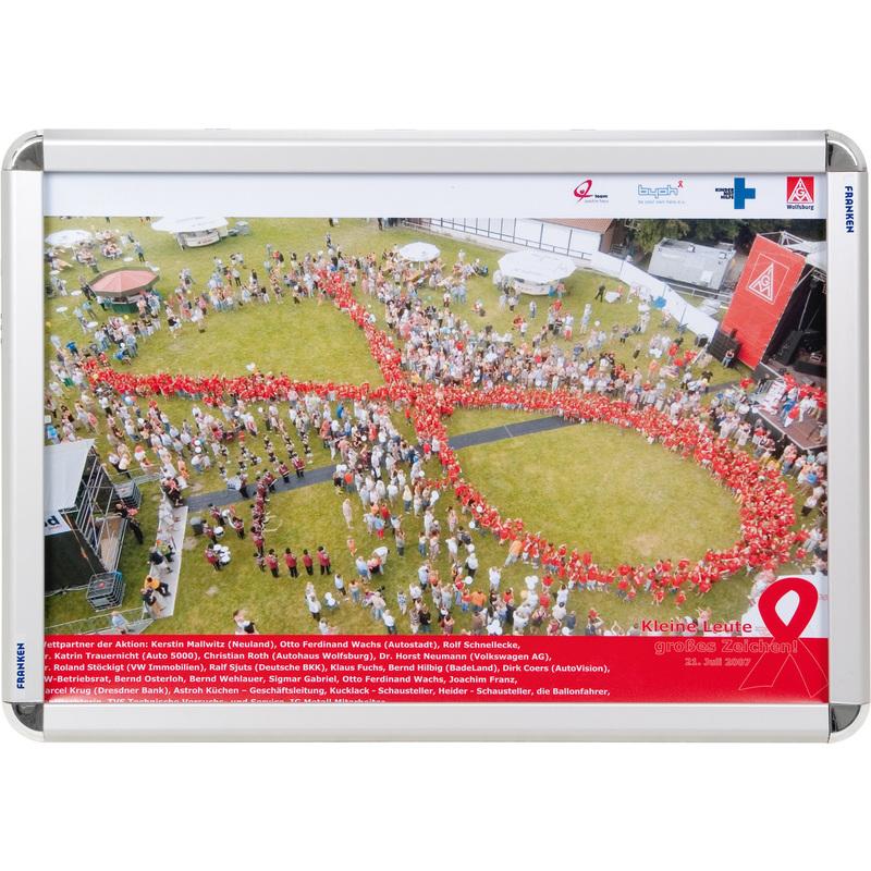 FRANKEN Plakatrahmen DIN A2, 32 mm Rahmenprofil BS0801 bei www ...