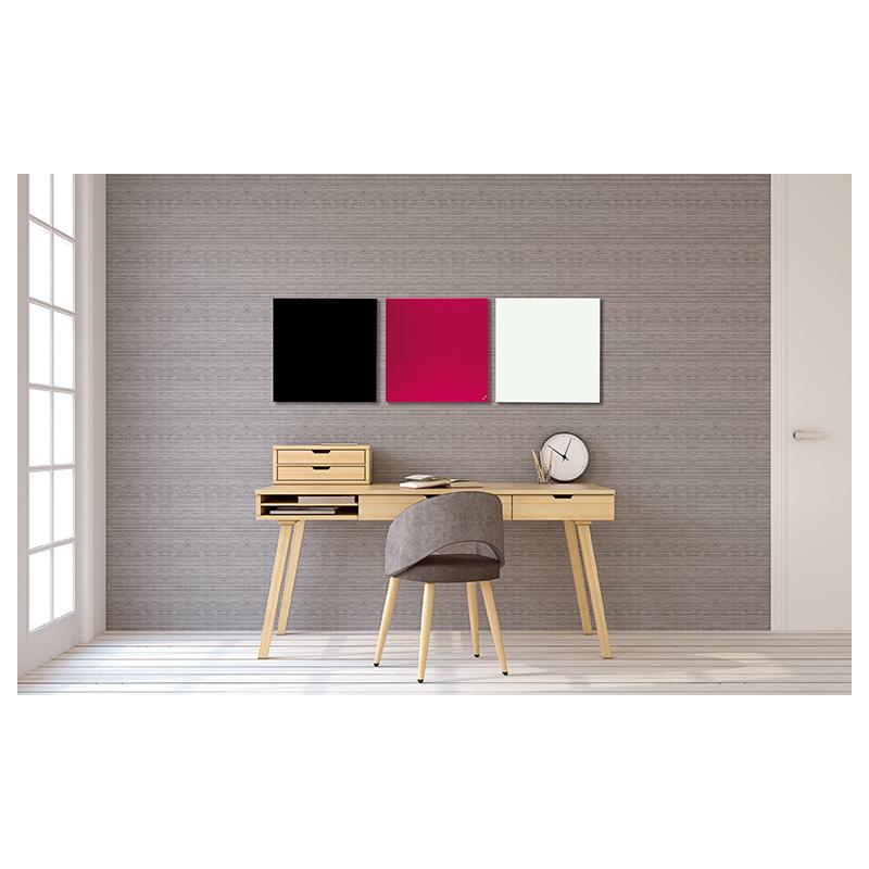 franken glas magnettafel b 400 x h 600 mm wei gt406009 bei g nstig kaufen. Black Bedroom Furniture Sets. Home Design Ideas
