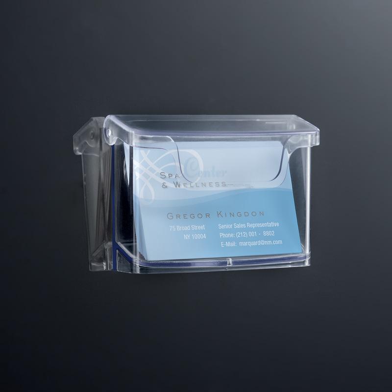 Sigel Wand Visitenkartenhalter Acrylic Acryl Glasklar