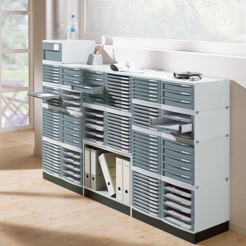 han schubladenbox contur 10 sch be geh use lichtgrau 1510 19 bei g nstig kaufen. Black Bedroom Furniture Sets. Home Design Ideas