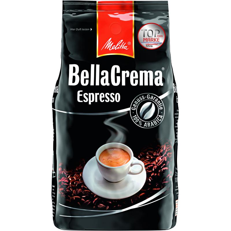 melitta kaffee bellacrema espresso ganze bohne 4002720008300 bei g nstig kaufen. Black Bedroom Furniture Sets. Home Design Ideas
