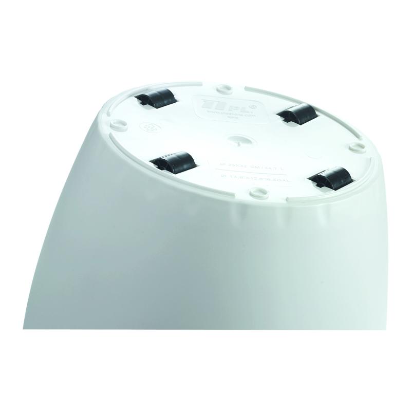 emsa blumenk bel casa rund durchmesser 430 mm wei 512793 bei g nstig kaufen. Black Bedroom Furniture Sets. Home Design Ideas