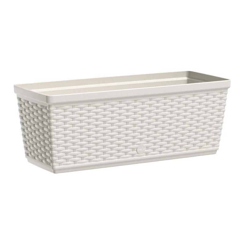 emsa blumenkasten aqua plus casa mesh b 500 mm wei 515021 bei g nstig kaufen. Black Bedroom Furniture Sets. Home Design Ideas