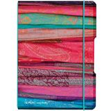 herlitz notizheft my.book flex Scarfs, A5, PP-Cover