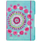 herlitz notizheft my.book flex Flowers, A5, PP-Cover
