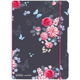 "herlitz notizheft my.book flex Ladylike ""Flowers"", A5"