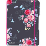 "herlitz notizheft my.book flex Ladylike ""Flowers"", A6"