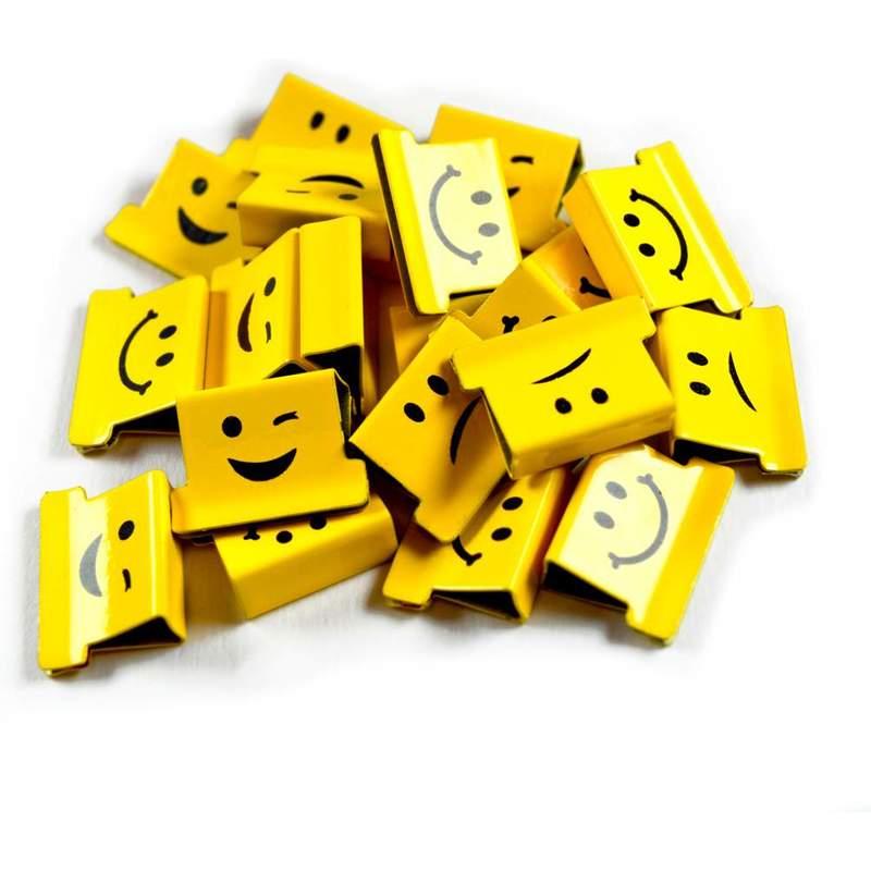 RAPESCO Dokumentenclip-Spender Supaclip 40 mit Emoji-Clips